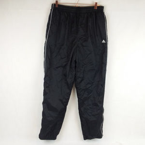Adidas Black Track Pants Large Water Resistant